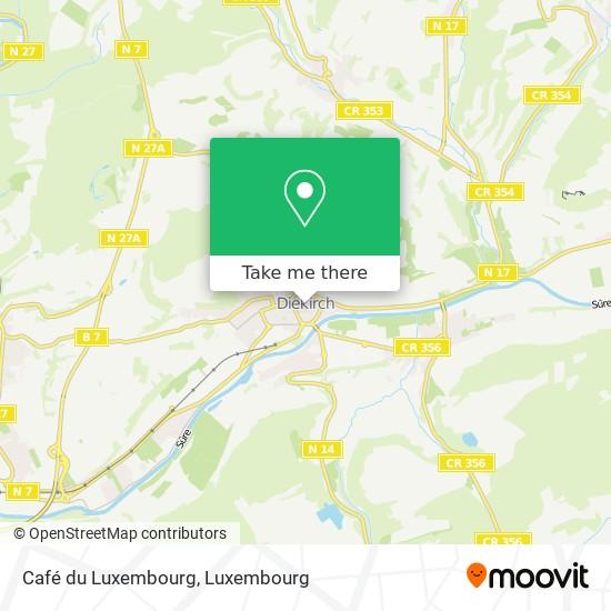 Café du Luxembourg Karte