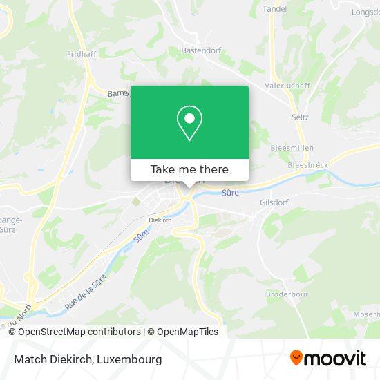Match Diekirch map