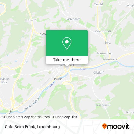 Cafe Beim Fränk mapa