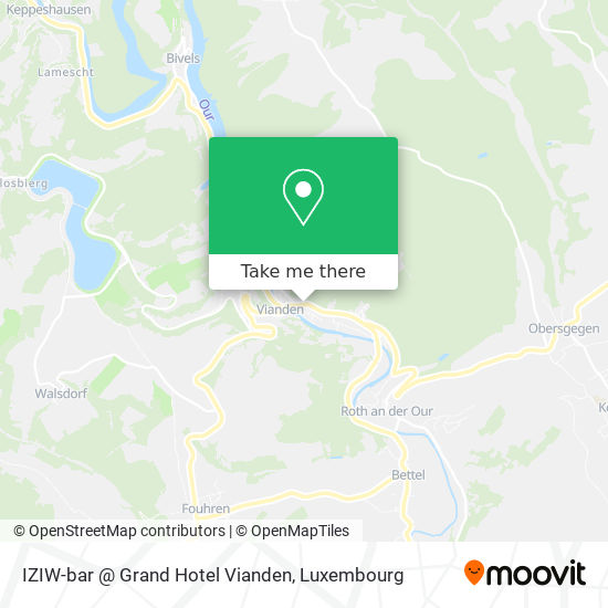 IZIW-bar @ Grand Hotel Vianden mapa