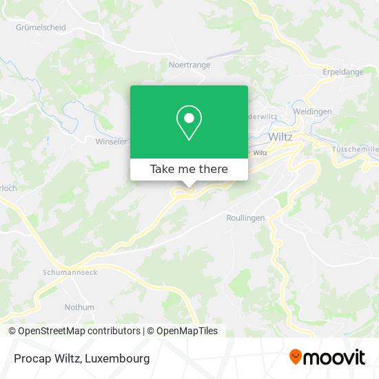 Procap Wiltz map