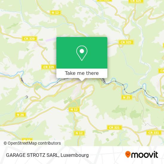 GARAGE STROTZ SARL map