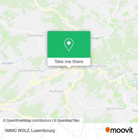 IMMO WOLZ mapa
