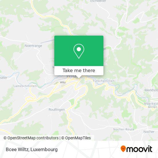 Bcee Wiltz map