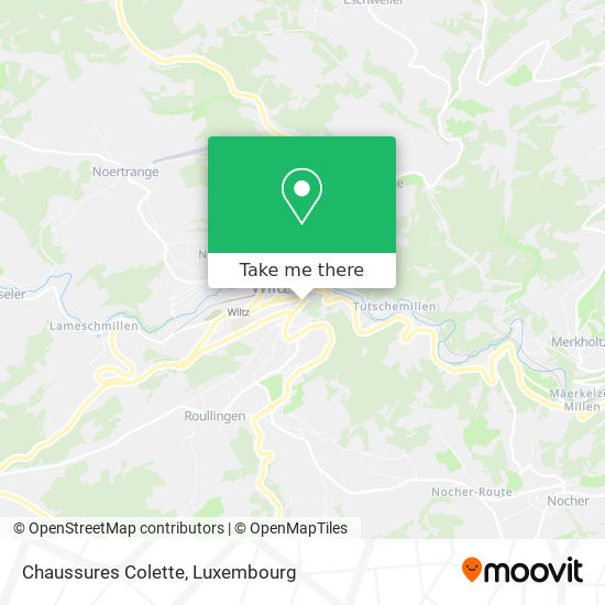 Chaussures Colette map