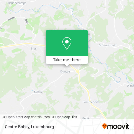 Centre Bohey map