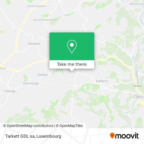 Tarkett GDL sa map