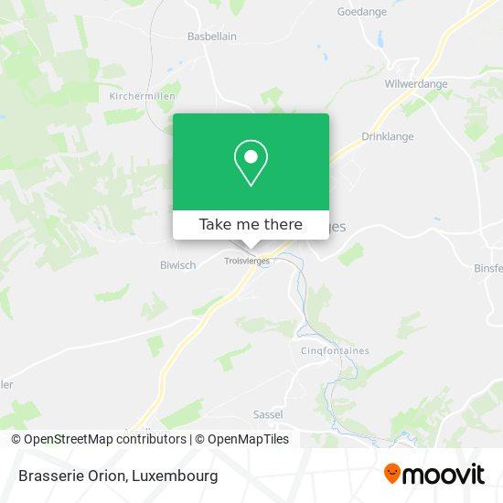 Brasserie Orion map