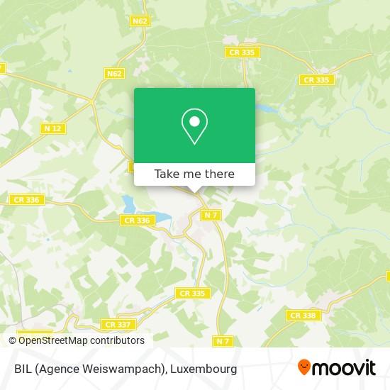 BIL (Agence Weiswampach) map