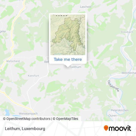 Leithum map