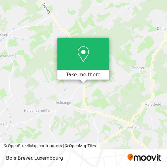 Bois Brever map