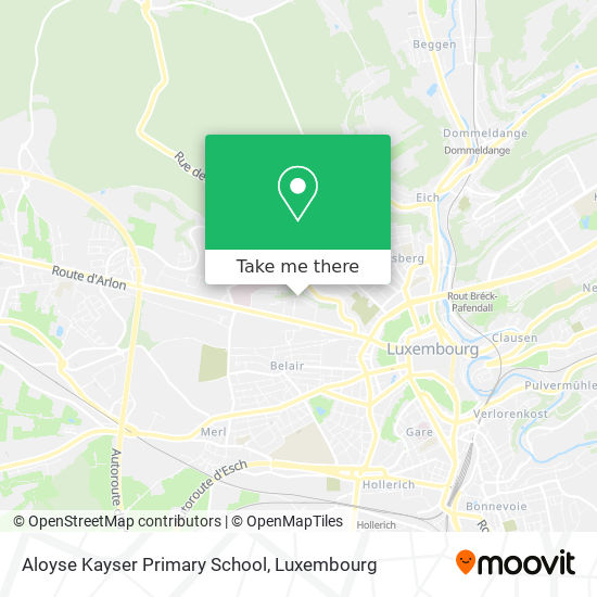 Aloyse Kayser Primary School map