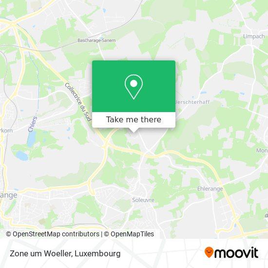 Zone um Woeller map