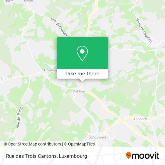 Rue des Trois Cantons map