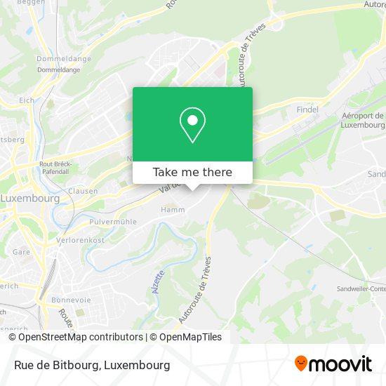 Rue de Bitbourg map