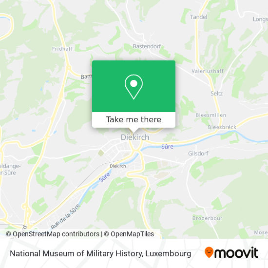 National Museum of Military History map