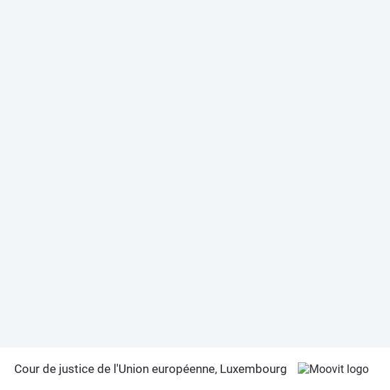 Cour de justice de l'Union européenne map