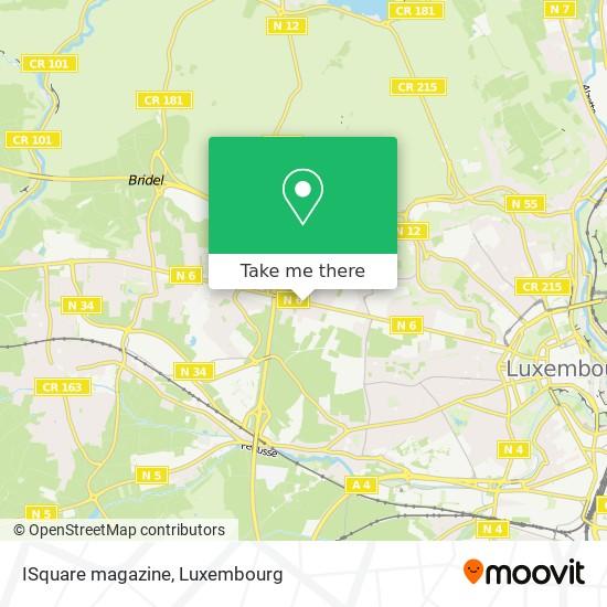 ISquare magazine map