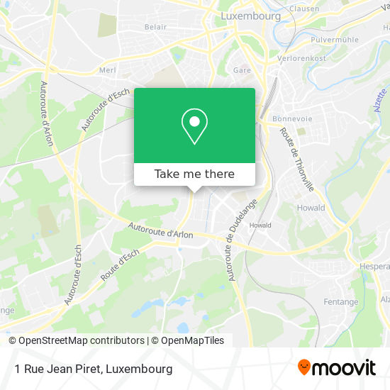 1 Rue Jean Piret map