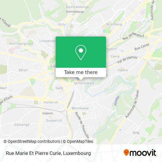 Rue Marie Et Pierre Curie map