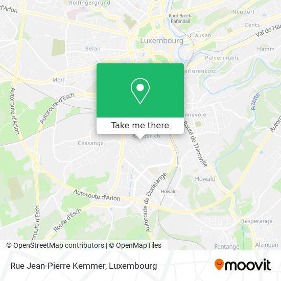 Rue Jean-Pierre Kemmer map