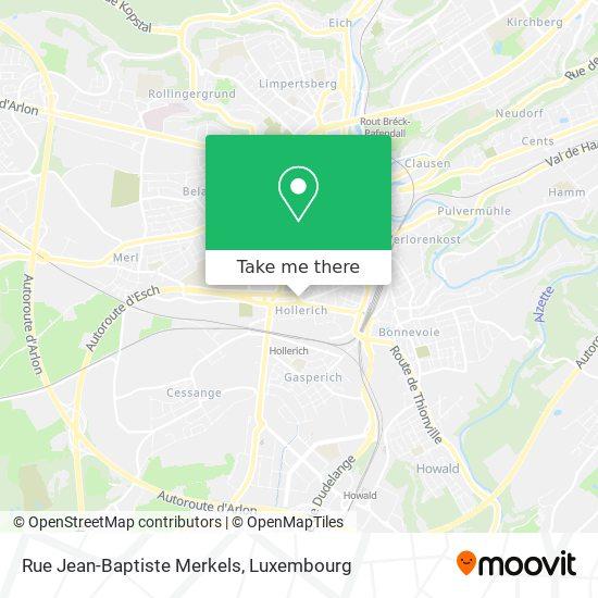 Rue Jean-Baptiste Merkels map