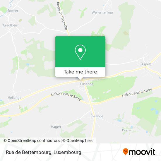 Rue de Bettembourg map