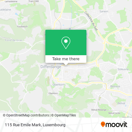 115 Rue Emile Mark map