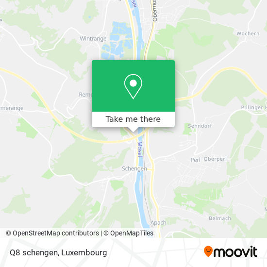 Q8 schengen map