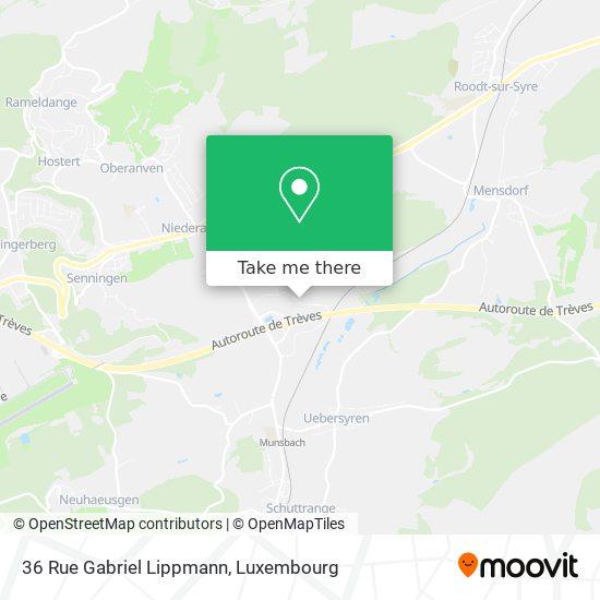 36 Rue Gabriel Lippmann map