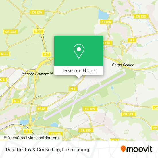 Deloitte Tax & Consulting map