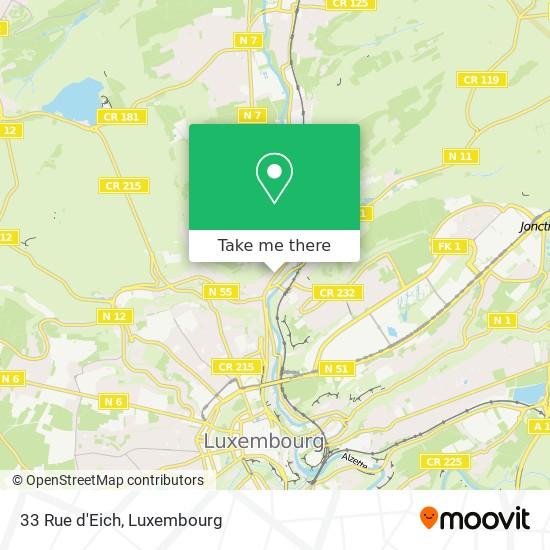 33 Rue d'Eich map
