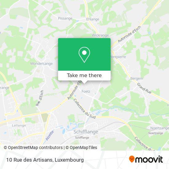 10 Rue des Artisans map