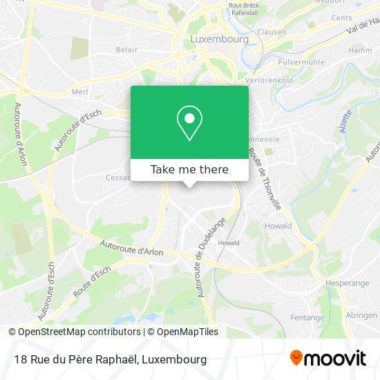18 Rue du Père Raphaël map