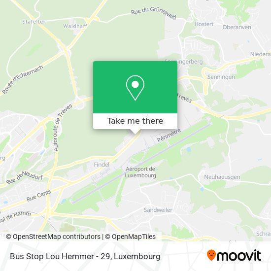 Bus Stop Lou Hemmer - 29 map
