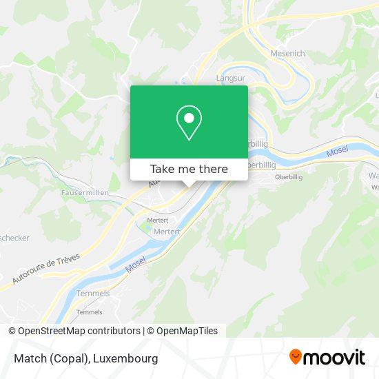 Match (Copal) map