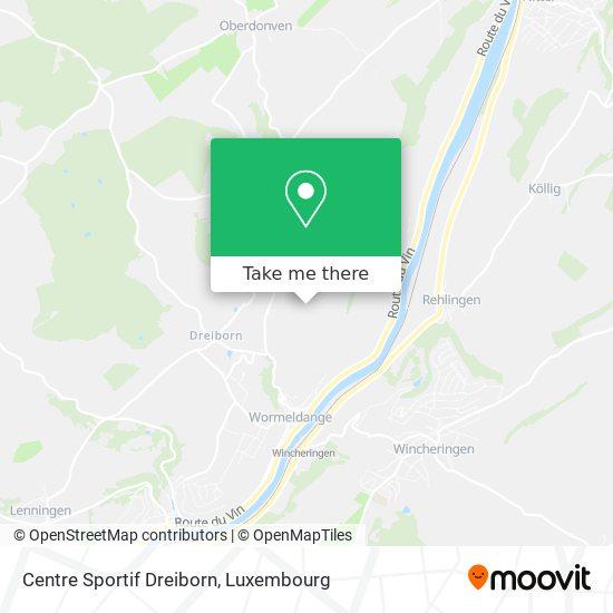 Centre Sportif Dreiborn map