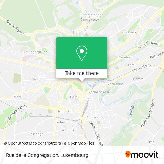 Rue de la Congrégation map