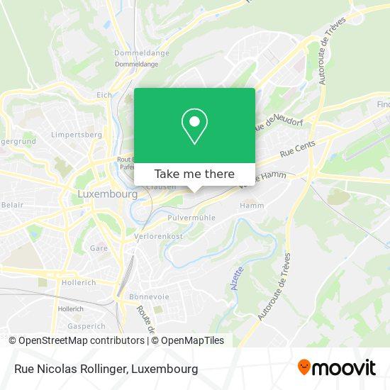 Rue Nicolas Rollinger map