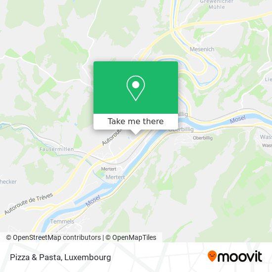 Pizza & Pasta map