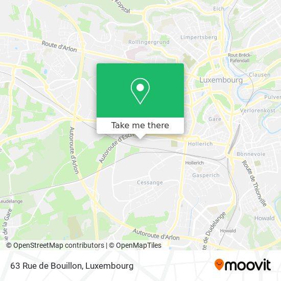 63 Rue de Bouillon map