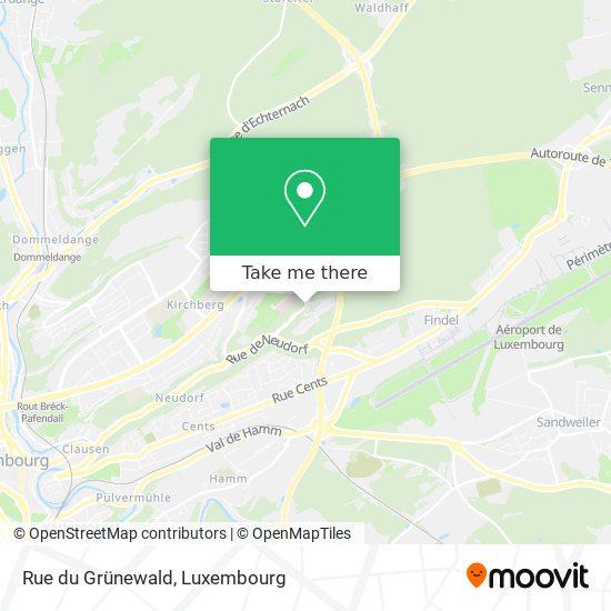 Rue du Grünewald map