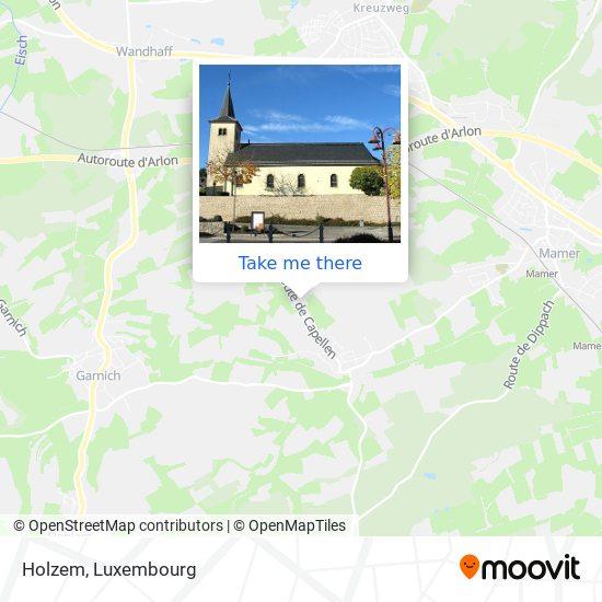 Holzem map