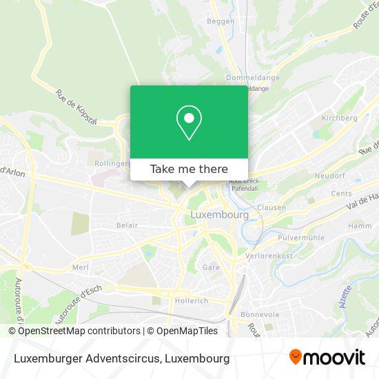 Luxemburger Adventscircus map