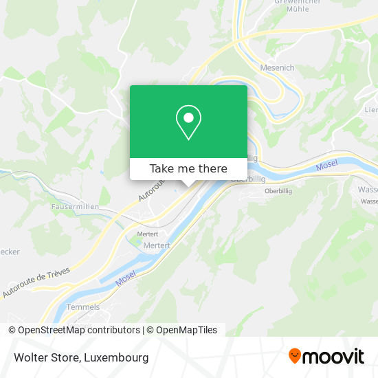 Wolter Store map