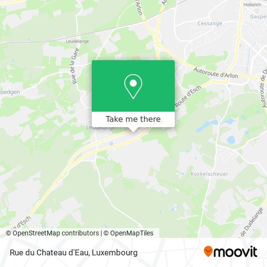 Rue du Chateau d'Eau map