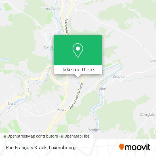Rue François Krack map