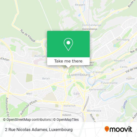 2 Rue Nicolas Adames map