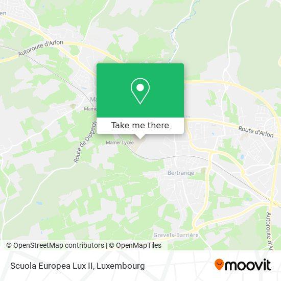 Scuola Europea Lux II map