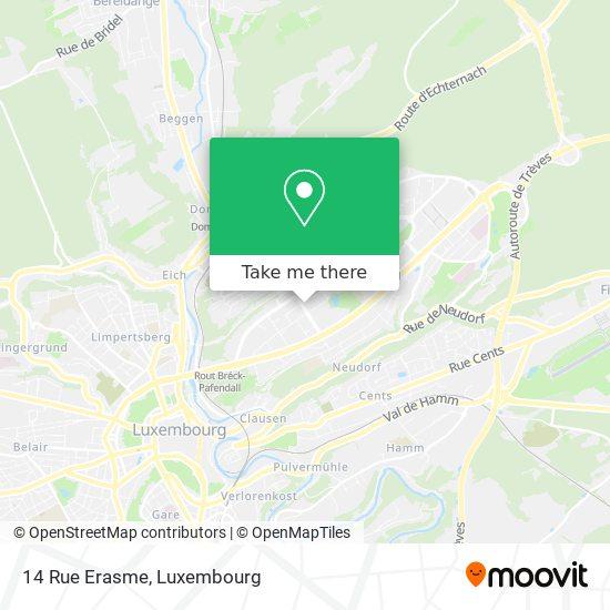 14 Rue Erasme map